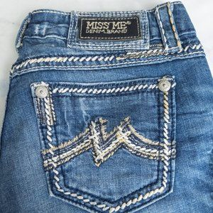 Miss Me Jeans Buckle Easy Boot Stretch